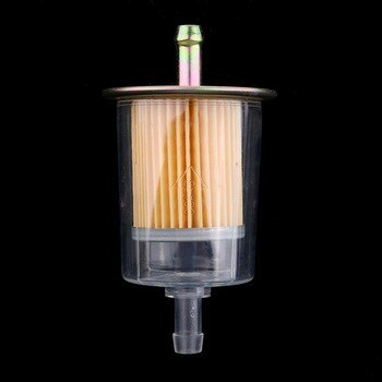 filtro de gasolina plastico